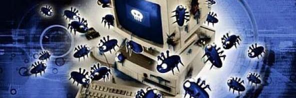 Waarschuwing voor een computervirus